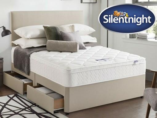 silentnight miracoil memory pillow top b image