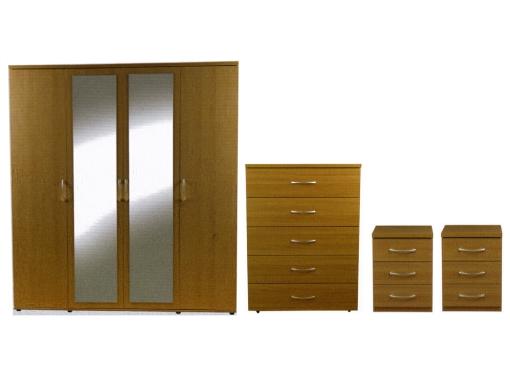4 door bedroom package image