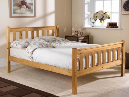 friendship mill shaker high foot end pine bed image
