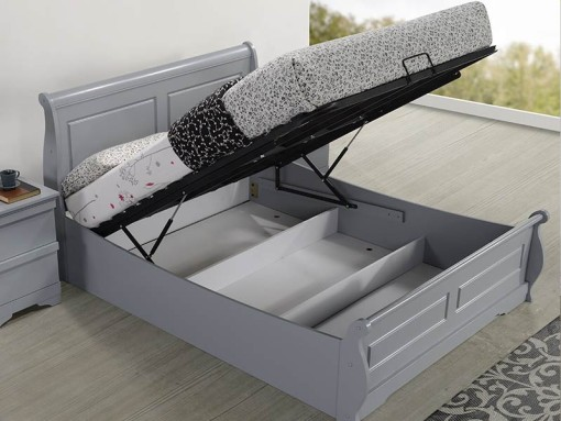sweet dreams robin grey ottoman bed frame image