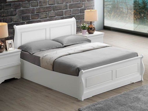 sweet dreams robin white ottoman bed frame image