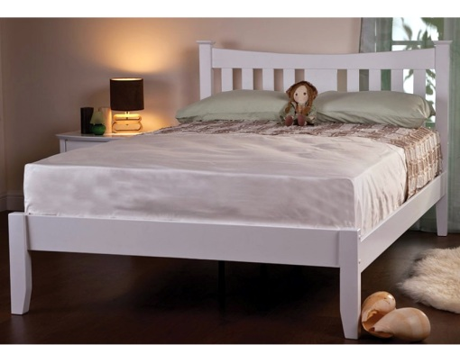 florida-white-wooden-bed-frame-image